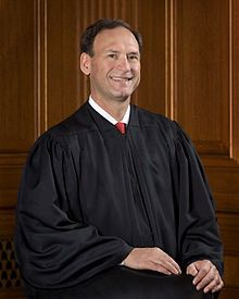 Honorable Samuel Alito (Associate Justice of the Supreme Court of the United States) Born in Trenton, N.J. Grew up in Hamilton Township, N.J. a Trenton suburb.