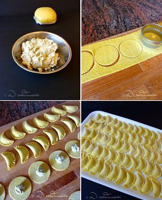 Di pasta impasta: Ravioli di melanzane con pasta sfoglia di semola senza uova