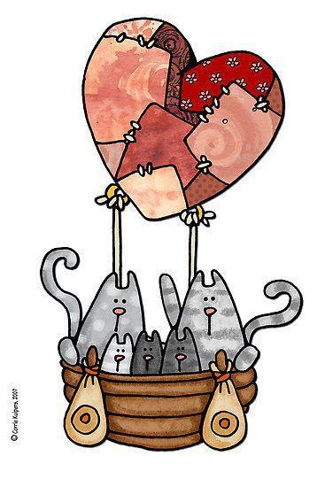 Corrie Kuipers greeting cards. Source: http://ernstfriessner.girlshopes.com/catkittylovegreetingcards/