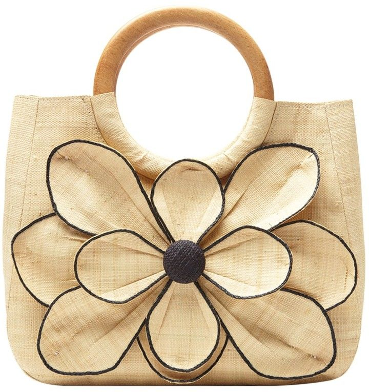 Mar Y Sol Guadeloupe Flower Tote