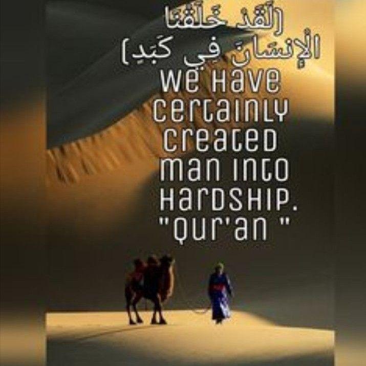 لقد خلقنا الإنسان في كبد صدق الله العظيم Quran Translation Quran Muna