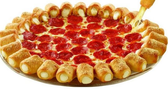 Receita da Pizza Cheese Pop da Pizza Hut (passo a passo)