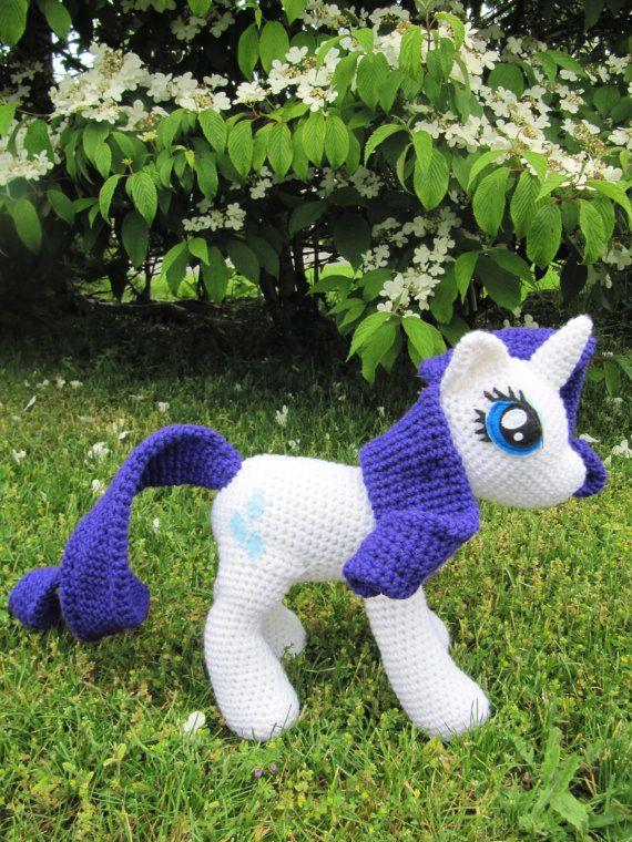 Amigurumi My Little Pony Patron : 31 best images about Amigurumi pony on Pinterest Free ...