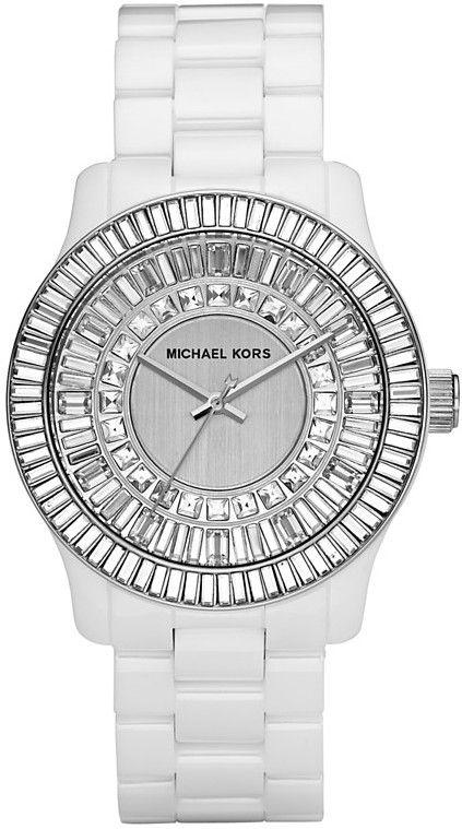Michael Kors White Ceramic Ladies Watch MK5361