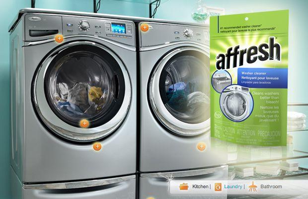 bleaching clothes in washing machine