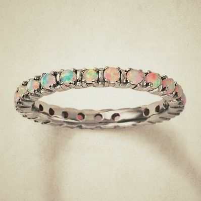 Beautiful opal ring MOM I TAKE IT BACK I LOVE THIS ONE!