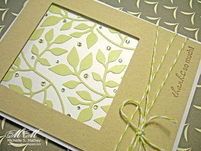 Pigment of My Imagination: CFC29, LIM43 - Sizzix leaves