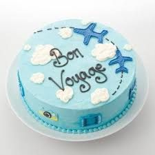 Bon Voyage Cake :-)