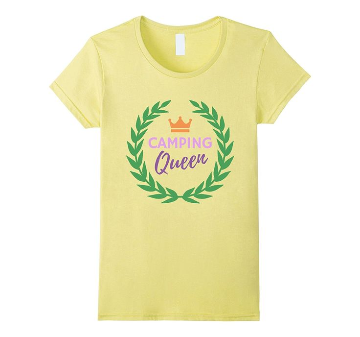 Womens Camping Queen Happy Camping Clothing Women Camper