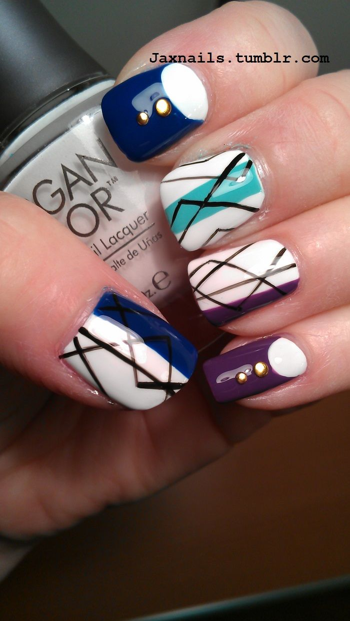 539 best Beautiful nail — just one images on Pinterest | Nail design ...