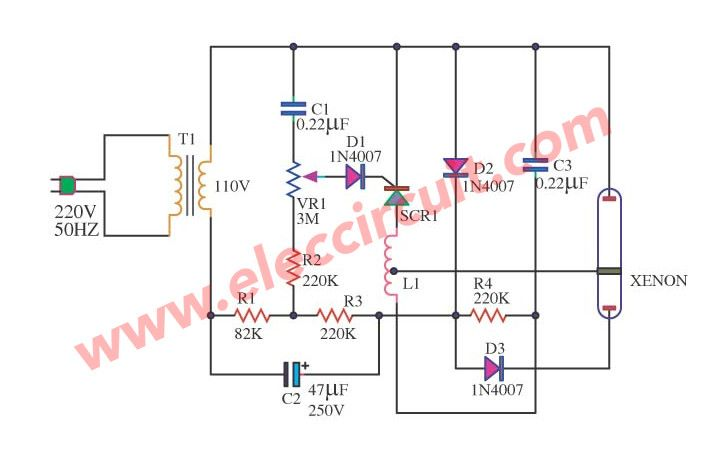 Understand These About Xenon Flash Circuit Before It S Too Late Strobe Lights Circuit Strobing
