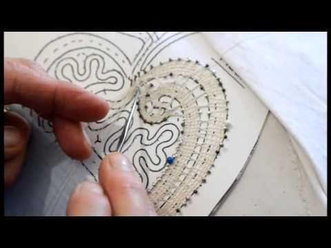 L'arte del merletto a tombolo: un armonioso intreccio di dita e fuselli…