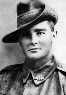Robert MacTier.jpg performed during the Battle of Mont St Quentin on 1 September 1918. That day, Mactier was a battalion runner serving with the 23rd Battalion, Australian Imperial Force. He was sent forward by an officer to determine the cause of a delay in the battalion moving into its jumping off position. The cause was a well placed enemy machine gun. On his own initiative, Mactier jumped out of the trench and charged the gun, killing its crew of six.