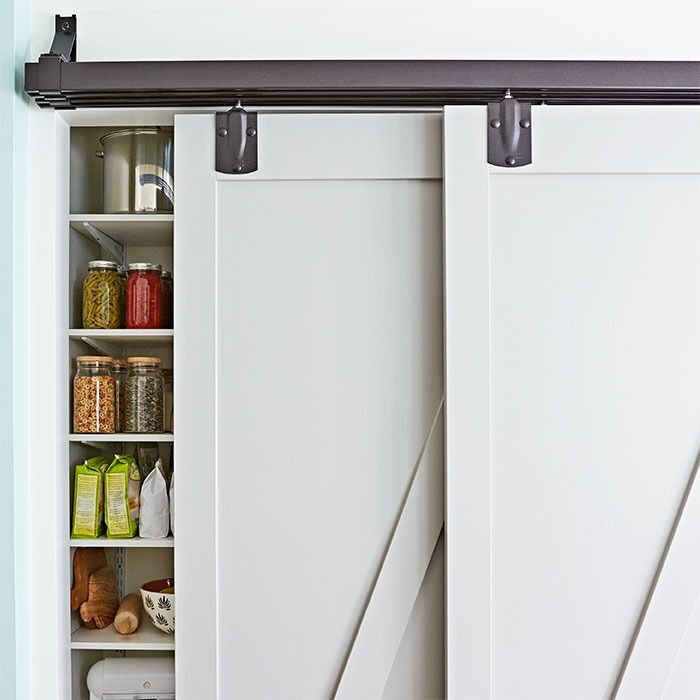 It s easier than you think to slide into a tidy kitchen  Conceal a well. 1000  ideas about Barn Doors Lowes on Pinterest   Sliding doors