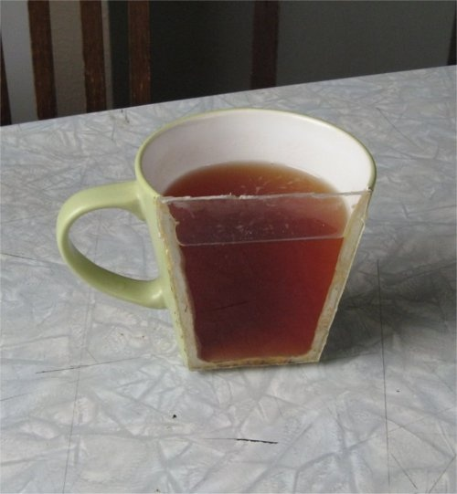 Only half a cup please...