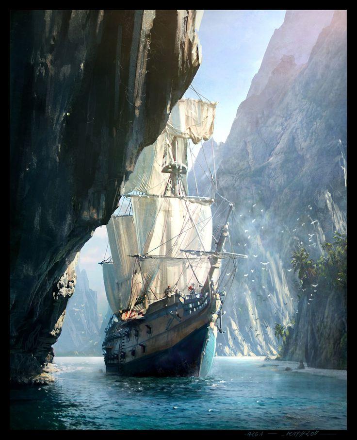 Assassins_Creed_IV_Black_Flag_Concept_Art_RL_02.jpg (1462×1800)