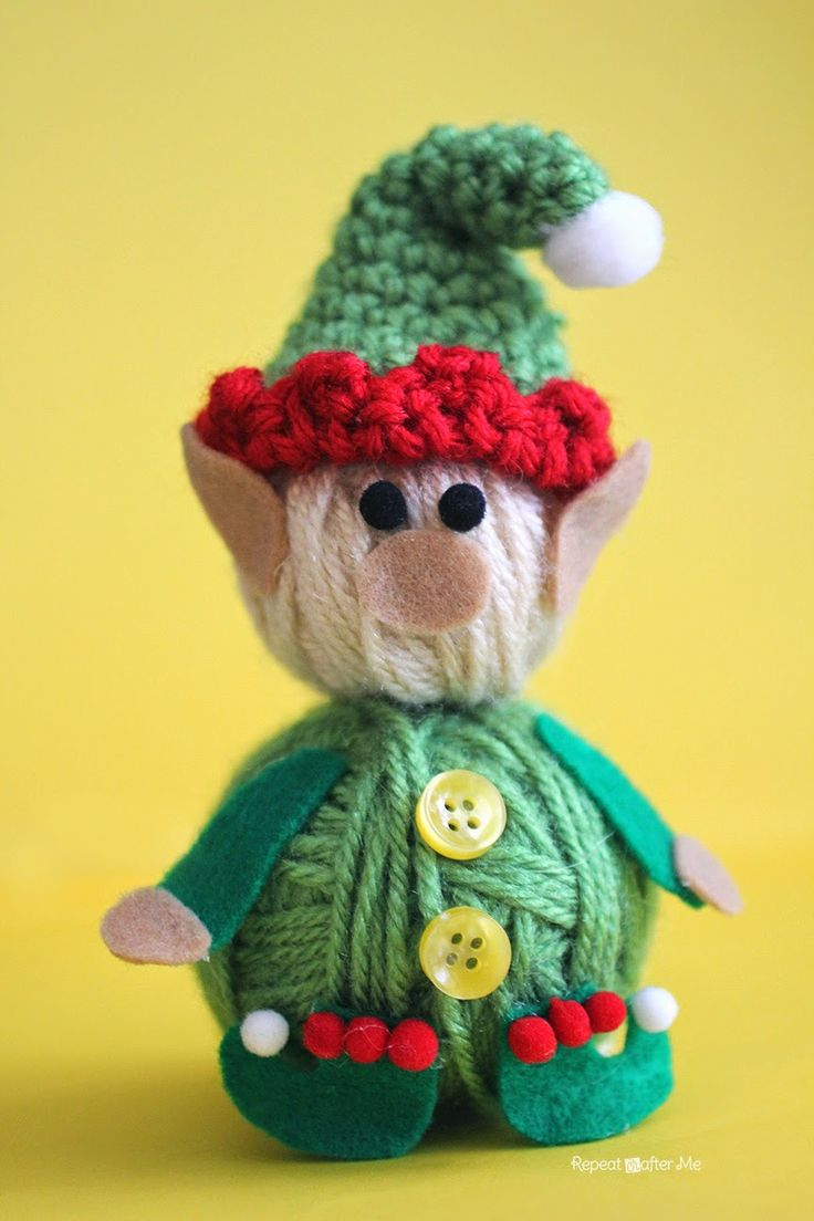 Repeat Crafter Me: Yarn Ball Elf