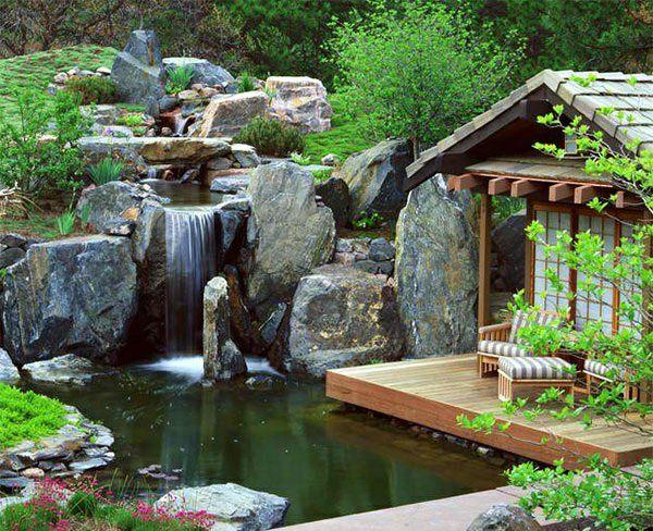 Gartenteich anlegen ideen f r eine kreative for Teich design new york