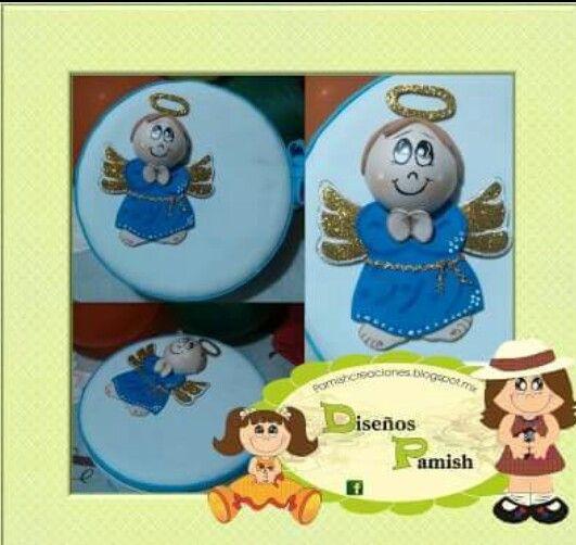 Tortillero de unicel angelito foami