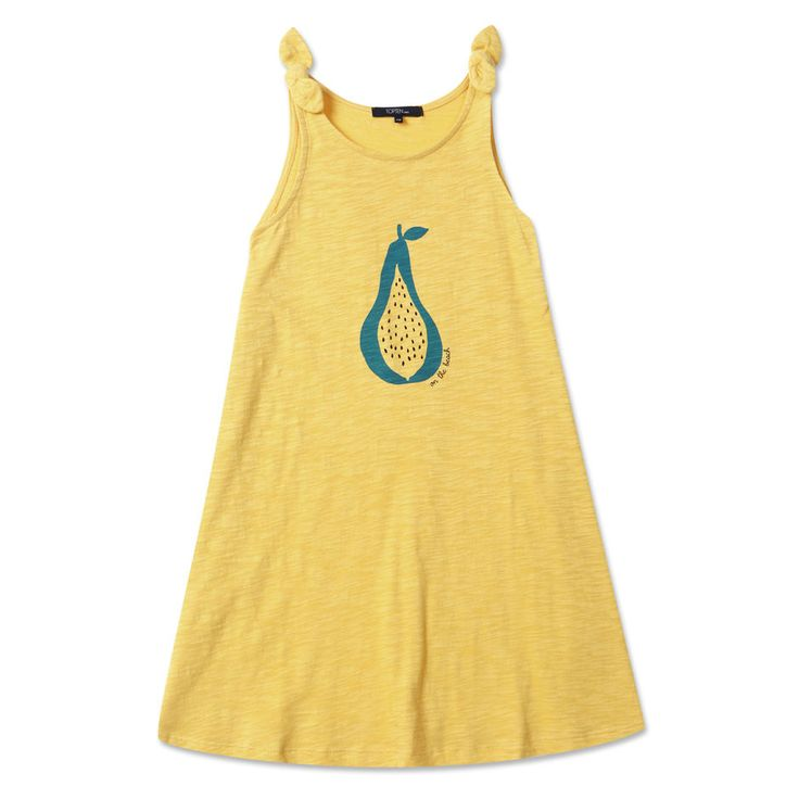 Topten10 KIDS GIRL Shoulder Ribbon Graphic Cotton Dress_6 options #Topten10 #Everyday