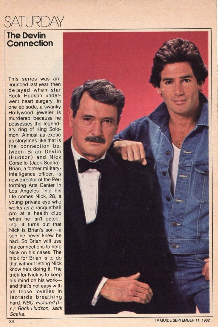 The Devlin Connection write-up from 1982 TV Guide Fall ...