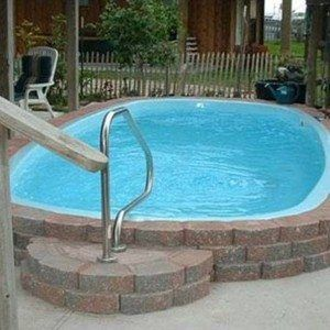 above ground fiberglass outdoor swimming pool design fiberglass outdoor swimming pool design in landscaping and - Above Ground Fiberglass Lap Pools