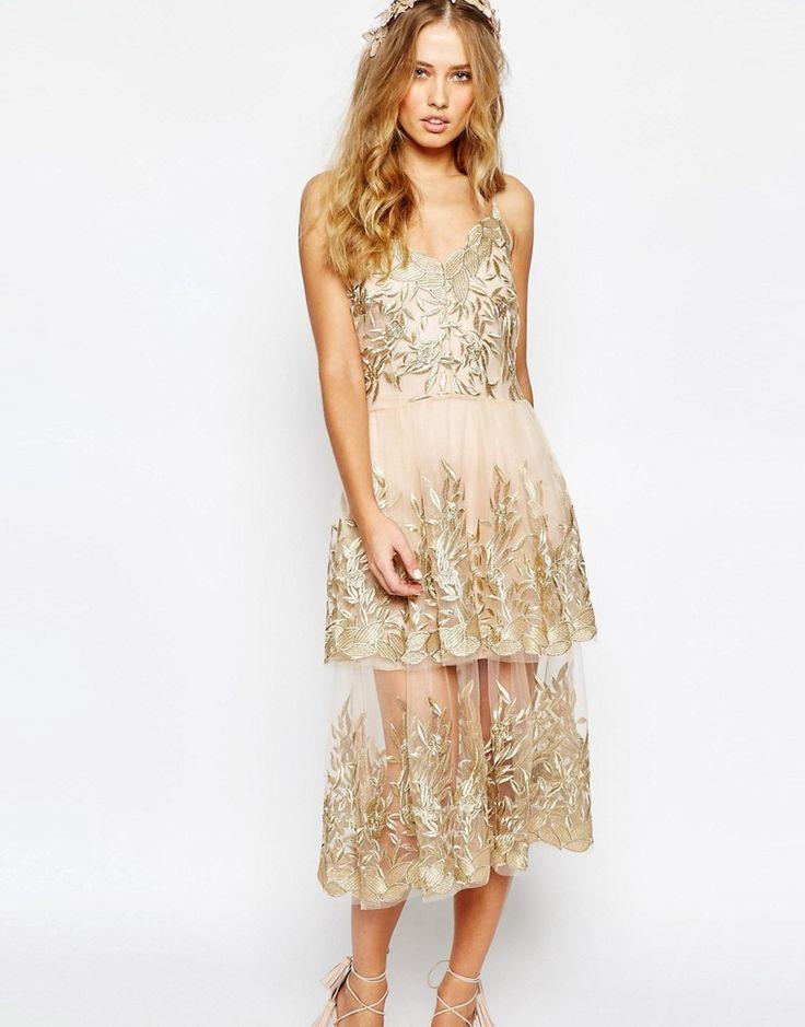 Body+Frock+Wedding+Begonia+Gold+Layered+Dress