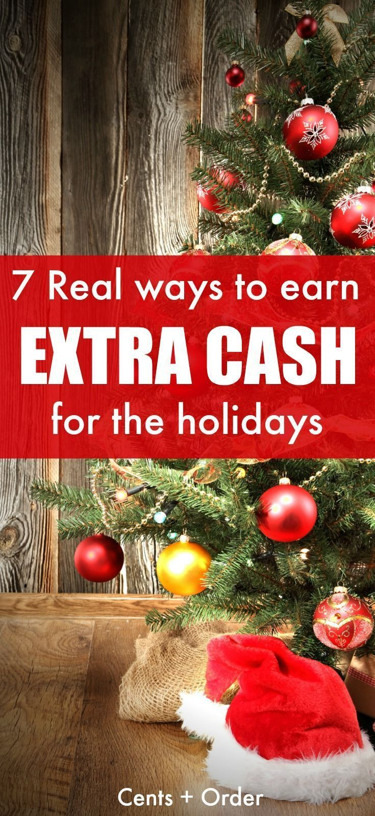 16 REAL Ways To Earn Extra Money For Christmas – Save Money for Christmas #savemoney ☆