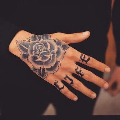 Inspiração para tatuagem nas mãos