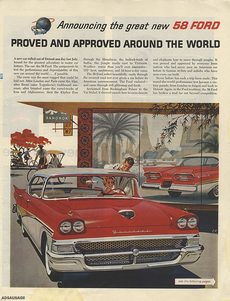 179 best Auto Ads images on Pinterest | Cars, Vintage cars and Car ...