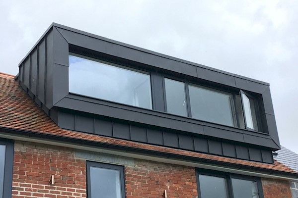 Zinc Roofing Contractors In Wiltshire Hampshire Gsl Southern In 2020 Zinc Roof House Cladding Roofing Contractors