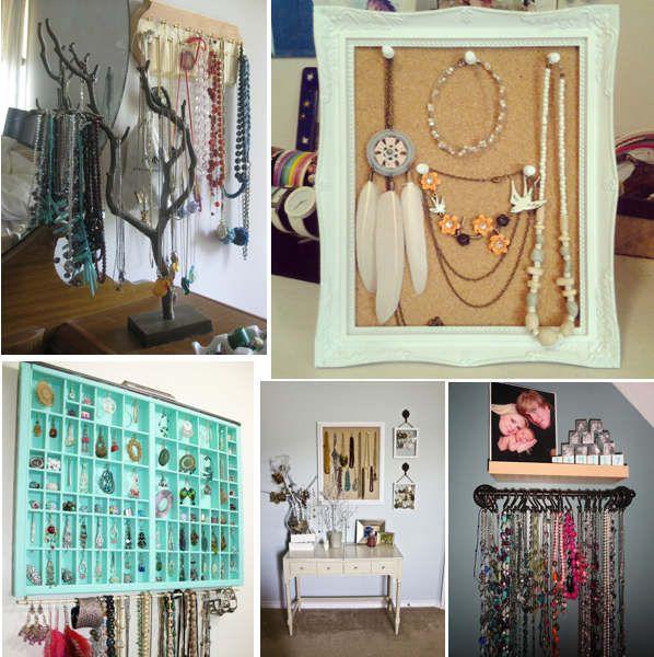 Idei DIY de suporturi de bijuterii, reciclare creativa de obiecte