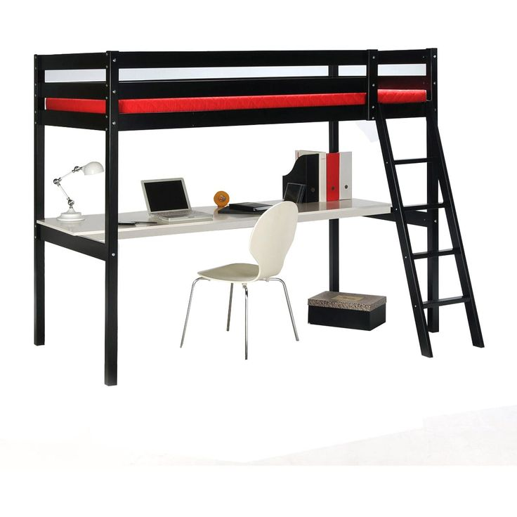 1000 id es sur le th me lit mezzanine 90x190 sur pinterest. Black Bedroom Furniture Sets. Home Design Ideas