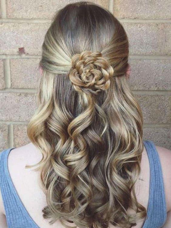 70 Super Easy DIY Hairstyle Ideas For Medium Length Hair | Ecemella #diyhairstylestutorials # ...
