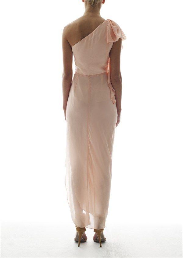 UNSPOKEN - Fawn One Shoulder Dress Ballet