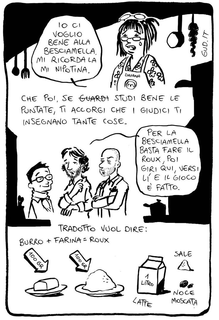 Besciamella, la ricetta a fumetti @MasterChef_it continua qui > http://www.gud.it/fumetto/besciamella-ricetta-fumetti-masterchef.htm