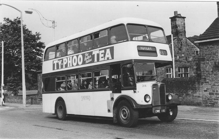 AEC Sheffield Transport OWE116