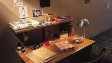 アンネの部屋の机