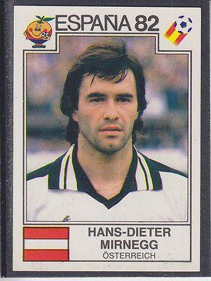 Panini - Espana 82 World Cup - # 135 Hans-Dieter Mirnegg - Osterreich