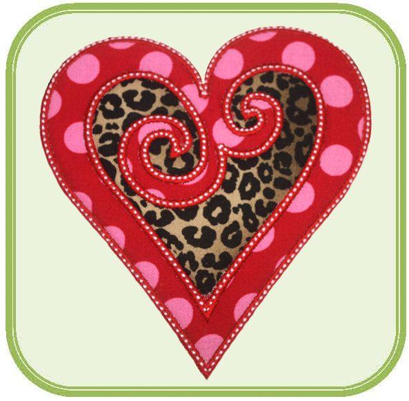 valentine applique designs | Valentine Applique Designs-ValentineHoliday
