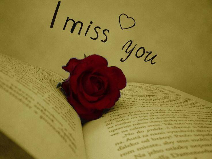 I miss you... Я скучаю по тебе...