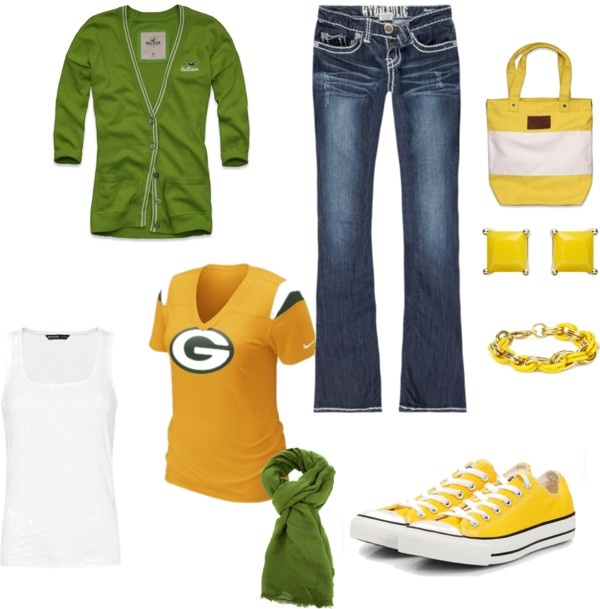 """Green Bay Packers"" by lindsayferguson-1 on Polyvore"
