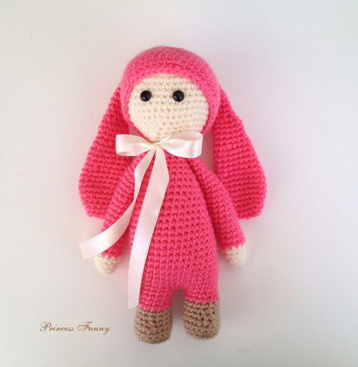 A personal favourite from my Etsy shop https://www.etsy.com/listing/520492079/bunny-stuffed-animalcrochet