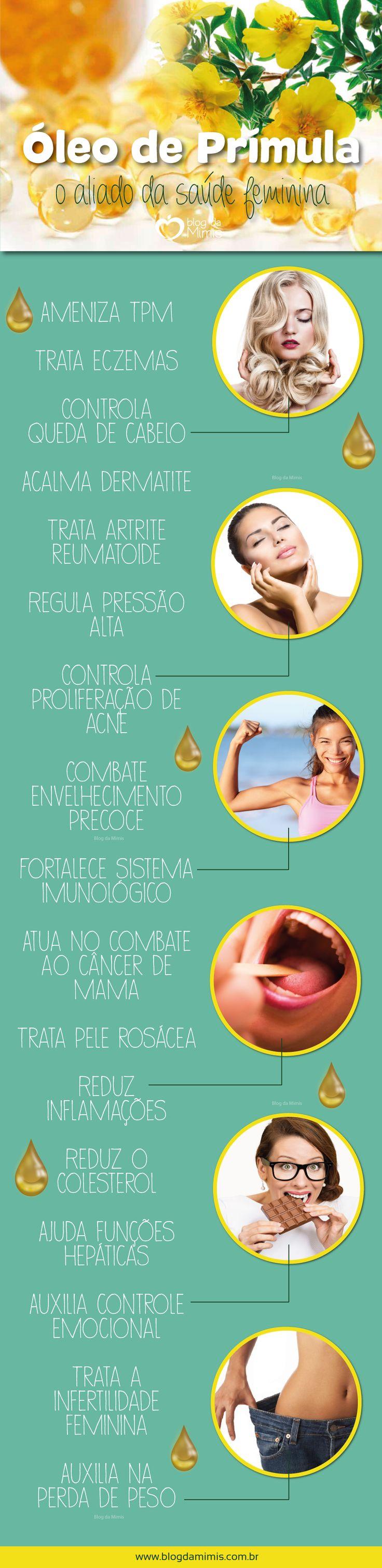 O óleo de prímula é um verdadeiro aliado da saúde feminina. Além de auxiliar no emagrecimento saudável, é também um regulador hormonal natural, aliviando desde sintomas da TPM e acne adulta, à pressão arterial e menopausa. Seus benefícios são muitos…