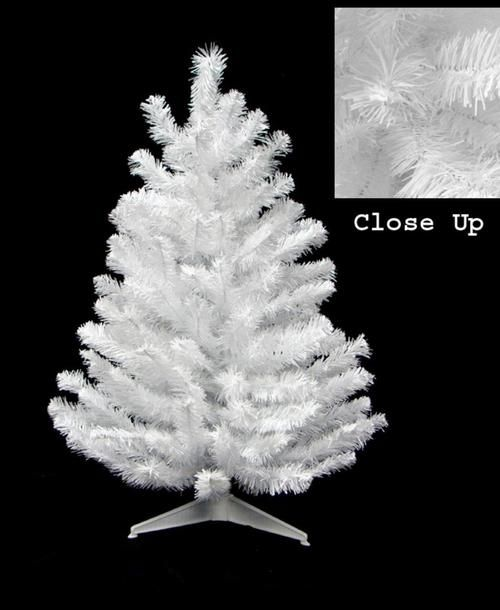 "18"""" x 11"""" Snow White Artificial Christmas Tree - Unlit"