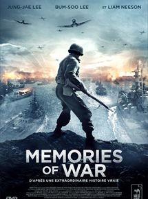 Telecharger le film Memories of War gratuitement          Synopsis Septembre 1950, la Guerre de Corée fait rage. Pour contrer l'offensive nord-coréenne, le Général MacArthur organise un débarquement sans précédent sur la plage d'Incheon. Sur place, huit soldats infiltrés dans les rangs...