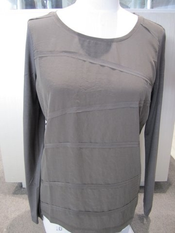 Long Sleeve 'Ribbon' Top