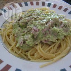 Foto recept: Pasta met tonijn en avocado