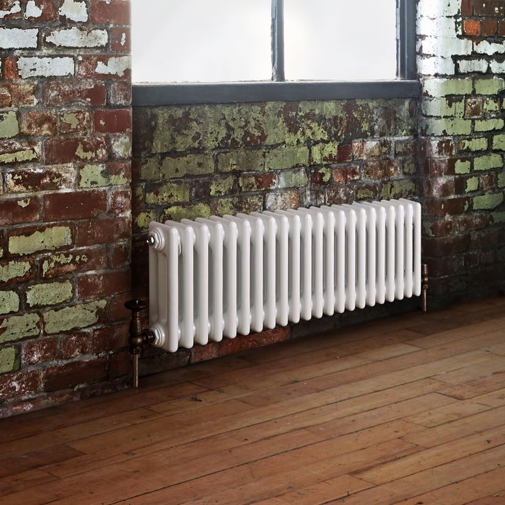 Milano Windsor - Traditional White 3 Column Radiator 300mm x 1013mm (Horizontal) - Traditional Column Radiators - Radiators