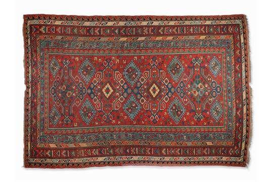 Sumak Kilim of Wool, Derbent area, 1st Half 20th Century WoolNorth East Caucasus, Derbent area, 1